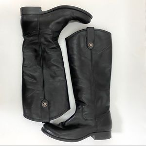 Frye Melissa Button Tab Tall Riding Boots